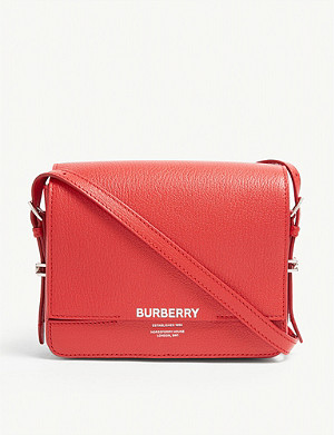 BURBERRY Grace leather shoulder bag