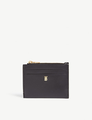 BURBERRY Simone leather card case