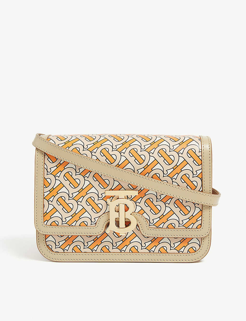 TB Monogram Shoulder Bag