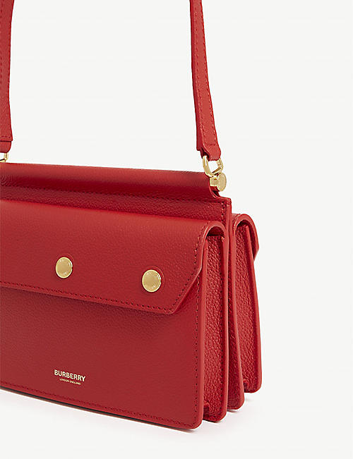 BURBERRY Title mini leather cross-body bag