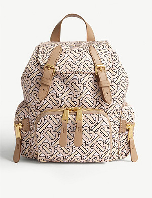 BURBERRY Monogram logo small nylon backpack