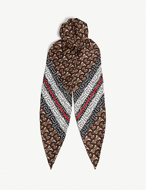 af40035b5a1b3 BURBERRY - Scarves - Accessories - Womens - Selfridges   Shop Online