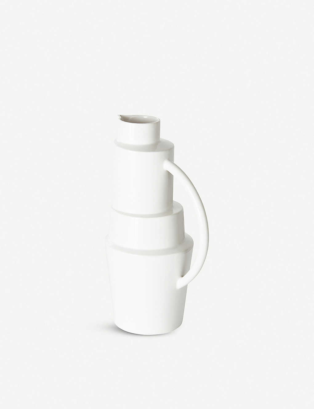 TOM DIXON: Block hand-glazed ceramic jug 35cm