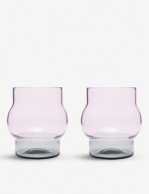 TOM DIXON Bump short glasses set of 2