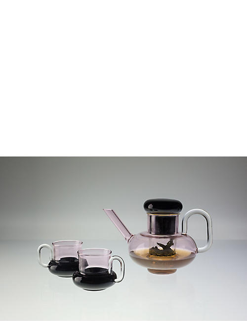 TOM DIXON Bump glass teapot 1l
