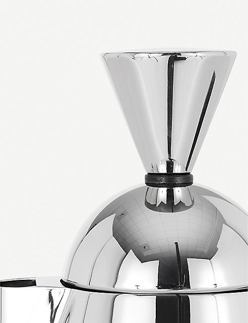 TOM DIXON Brew stainless steel stove top coffee maker