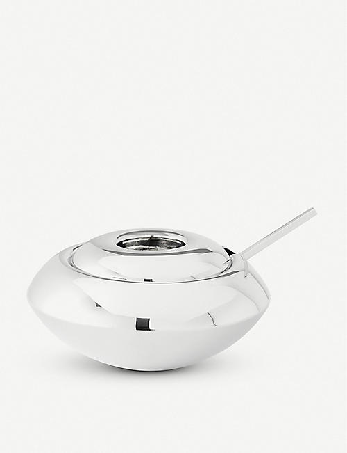 TOM DIXON: Form stainless steel sugar bowl