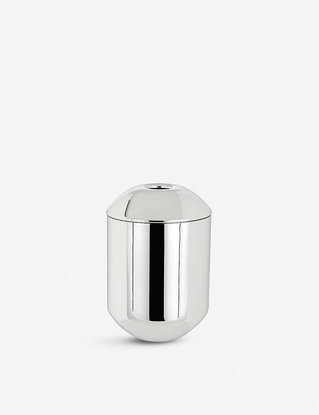 TOM DIXON: Form mirrored stainless steel caddy