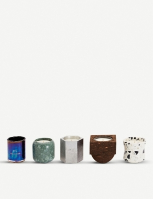 TOM DIXON Materialism scented candle gift set