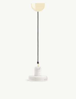 TOM DIXON Stone pendant light 10.6cm