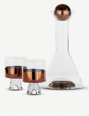 TOM DIXON Tank copper wine set