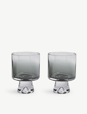 TOM DIXON Tank low-ball glasses set of two