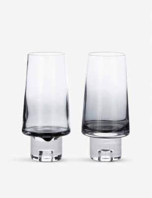 TOM DIXON Tank Highball glasses set of 2