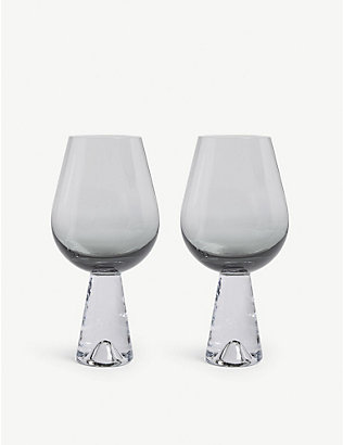 TOM DIXON: Tank wine glasses set of two