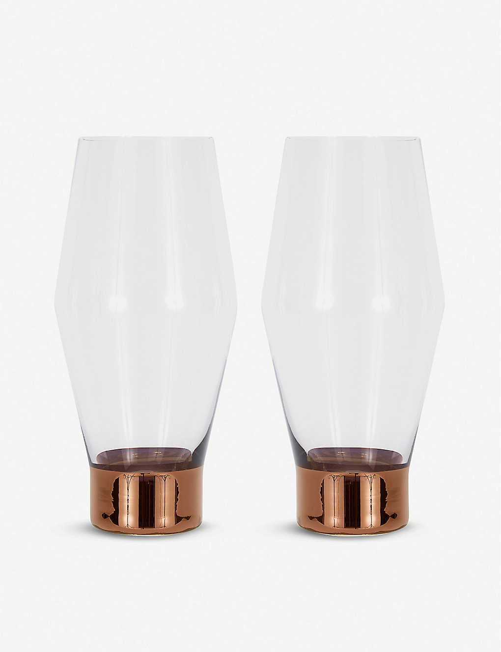 TOM DIXON: Tank beer glasses