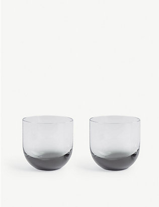 TOM DIXON: Tank glasses set of two