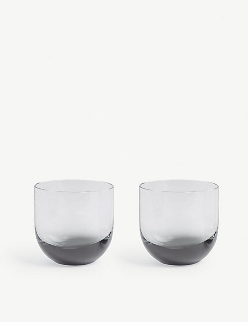 TOM DIXON Tank glasses set of two