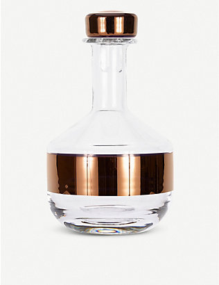 TOM DIXON: Tank whiskey decanter