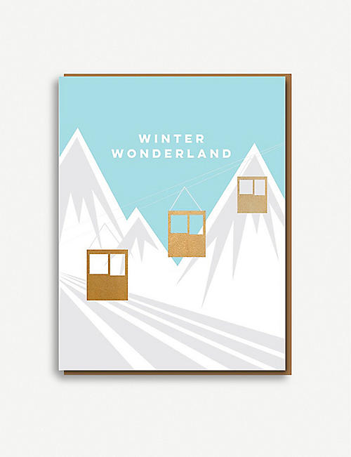 NINETEEN SEVENTY THREE Winter Wonderland Christmas greetings cards pack of eight