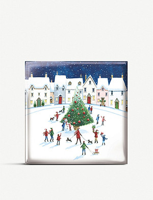 THE GREAT BRITISH CARD COMPANY Nostalgic town Christmas cards pack of 16