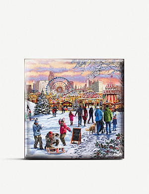 THE GREAT BRITISH CARD COMPANY London scenes Christmas cards pack of 16