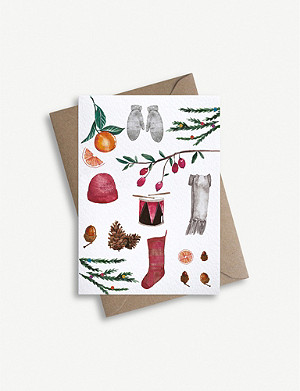 PARADE Christmas collection greetings card