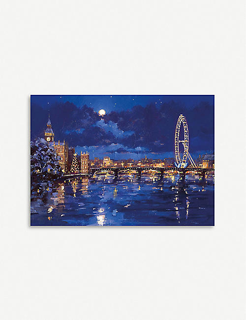 MUSEUMS AND GALLERIES Thames and London Eye Christmas cards