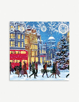 MUSEUMS AND GALLERIES Christmas Eve Christmas card 5-pack