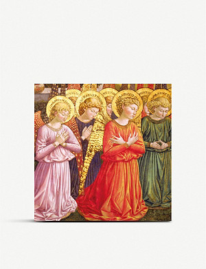 MUSEUMS AND GALLERIES Adoring Angels Christmas card set pack of 5