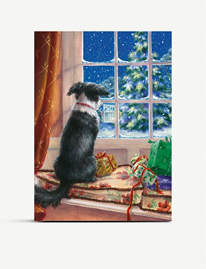 MUSEUMS AND GALLERIES On the Windowsill Charity Christmas card set pack of 8