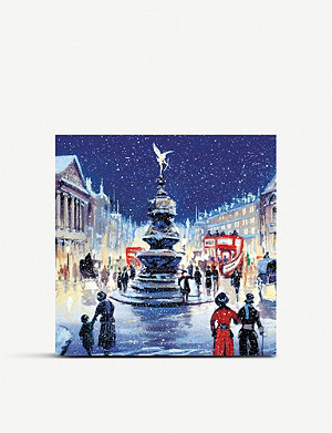 MUSEUMS AND GALLERIES Piccadilly Charity Christmas card set pack of 8