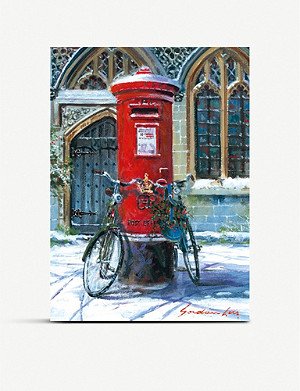 MUSEUMS AND GALLERIES Post Box Charity Christmas card set pack of 5