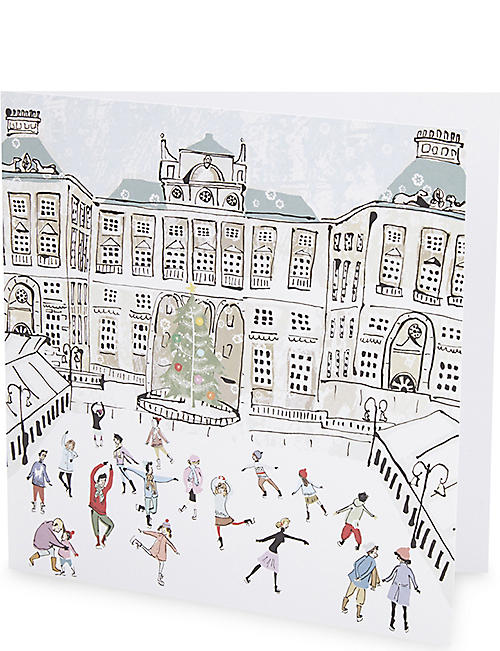MUSEUMS AND GALLERIES Somerset House Charity Christmas cards pack of five