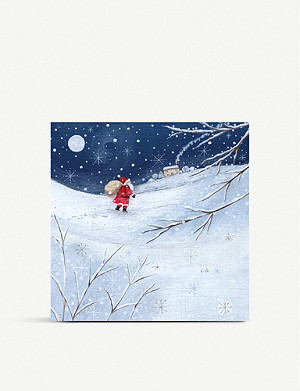 MUSEUMS AND GALLERIES Father Christmas Charity Christmas card set pack of 8