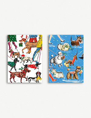 MUSEUMS AND GALLERIES Winter Walkies Charity Christmas card set