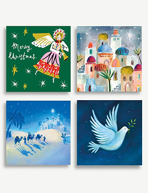 MUSEUMS AND GALLERIES Macmillan Charity Christmas card set pack of 20