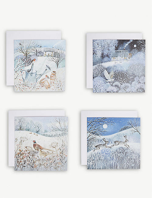 MUSEUMS AND GALLERIES Charity Christmas cards set of 20