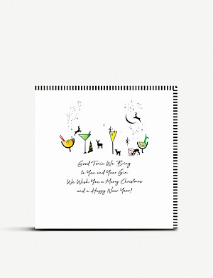 FIVE DOLLAR SHAKE Good Times Christmas cards pack of six