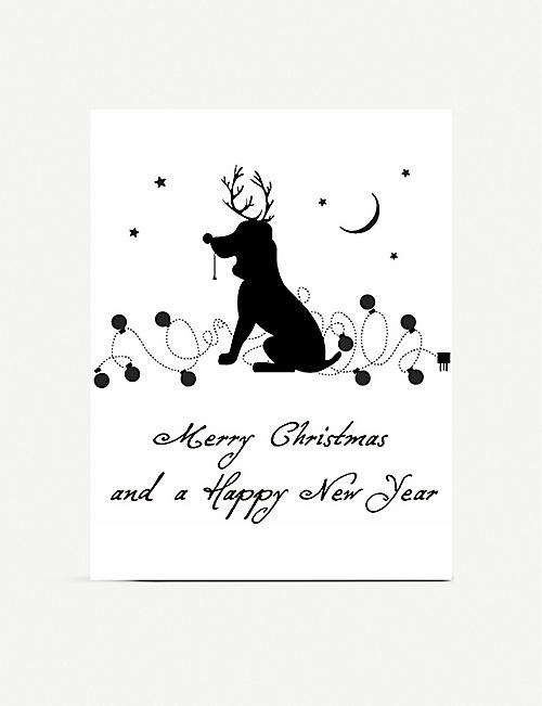 FIVE DOLLAR SHAKE Merry Christmas and a Happy New Year greetings card 16cm x 11.5cm