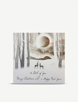 FIVE DOLLAR SHAKE To Both of You Merry Christmas greetings card 17cm x 17cm
