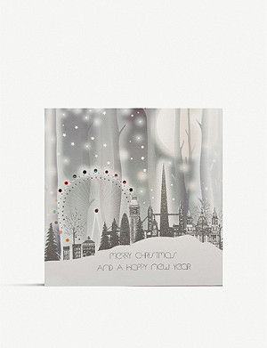 FIVE DOLLAR SHAKE Merry Christmas greetings card 17cm