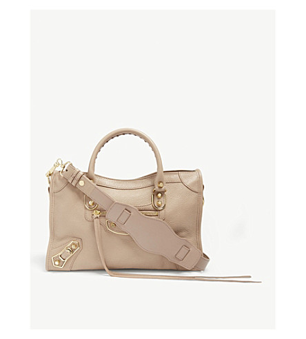 98ffff5fea47 ... BALENCIAGA Classic Metallic Edge City grained leather tote bag  (Rose+pink gold. PreviousNext