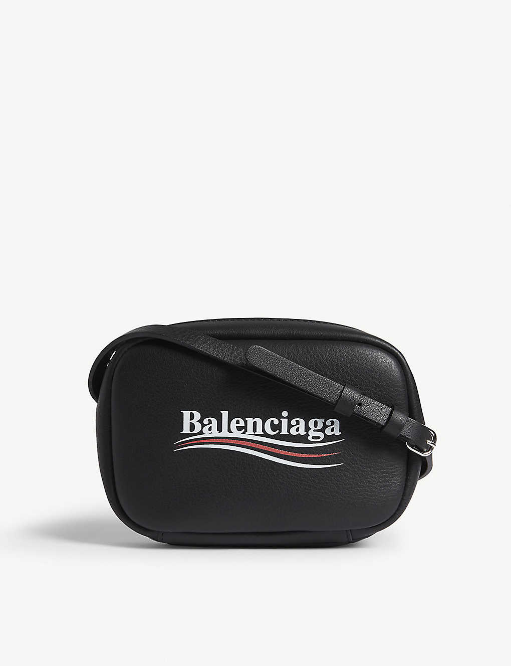 2ef4c9d00461 BALENCIAGA - Everyday XS logo leather camera bag | Selfridges.com
