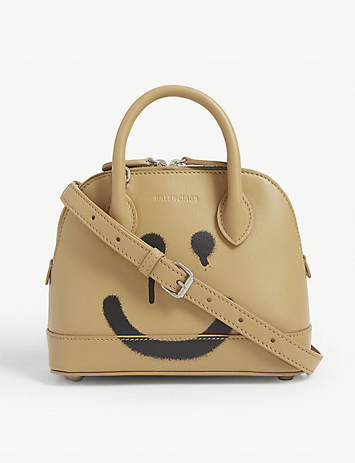 BALENCIAGA Ville Happy/Not Happy tote bag