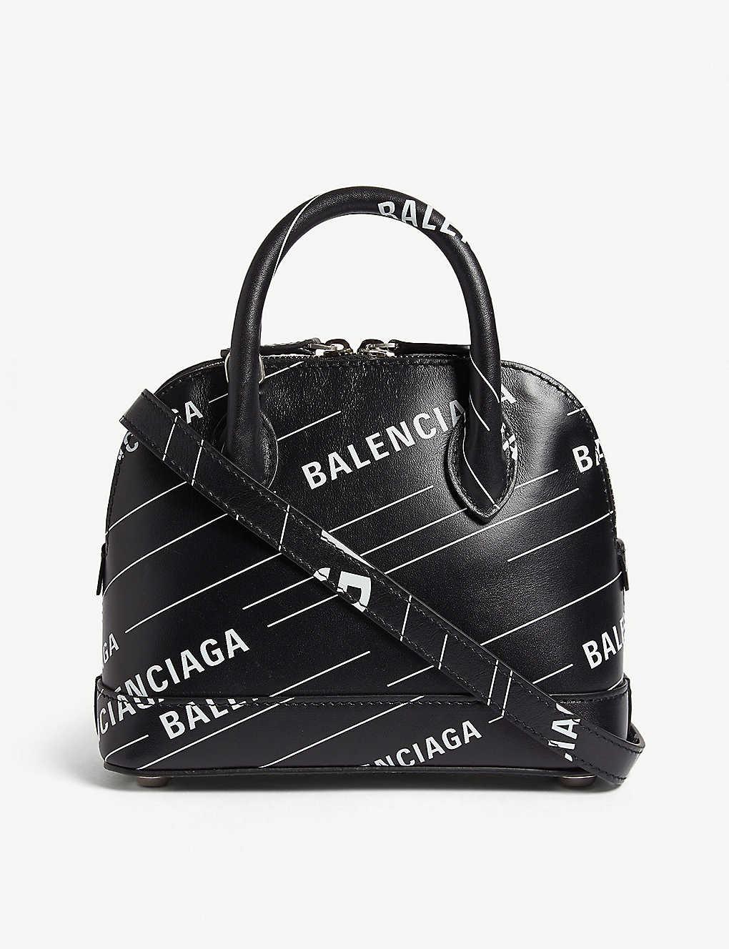 601467ac5 BALENCIAGA - Ville mini leather cross-body bag   Selfridges.com