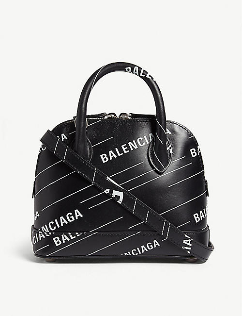 BALENCIAGA Ville mini leather cross-body bag 873963357
