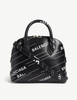 BALENCIAGA Ville mini leather cross-body bag