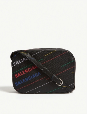 BALENCIAGA Logo camera bag