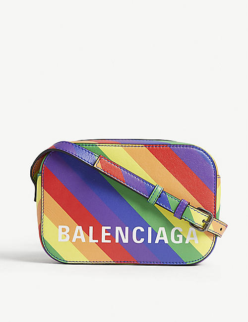 BALENCIAGA Rainbow camera bag
