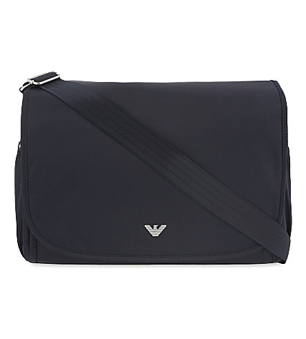 ... EMPORIO ARMANI Changing bag (Indigo. PreviousNext 34ff7715a3d2a